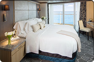 Suites del crucero
