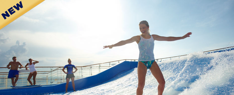 FlowRider del Voyager of the Seas