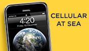 Teléfono móvil en alta mar